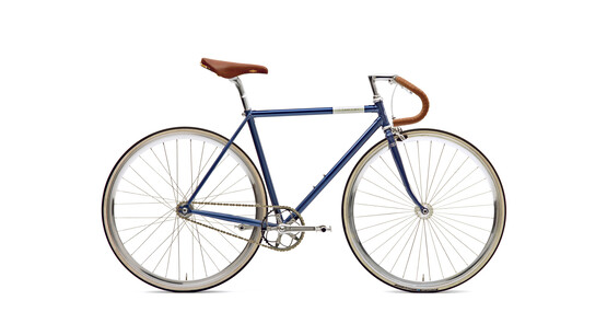 Creme Vinyl Doppio singlespeed/fixed gear deep blue